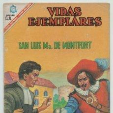 Tebeos: VIDAS EJEMPLARES - Nº 232 - SAN LUIS Mª DE MONFORT - ED. NOVARO - 1966. Lote 236514605