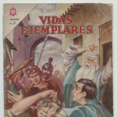 Tebeos: VIDAS EJEMPLARES - Nº 183 - SAN VIATOR - ED. NOVARO - 1964. Lote 236515395