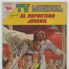 Tebeos: TV MUNDIAL - Nº 14 - EL REPORTERO JUVENIL - SEA - 1963. Lote 236516630