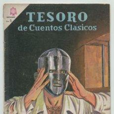 Tebeos: TESORO DE CUENTOS CLÁSICOS - Nº 87 - EL HOMBRE DE LA MÁSCARA DE HIERRO - ED. NOVARO - 1964. Lote 236521015