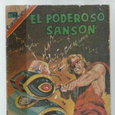 BDs: EL PODEROSO SANSÓN 22, 1974, NOVARO. COLECCIÓN A.T.. Lote 236864195