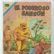 BDs: EL PODEROSO SANSÓN 21, 1973, NOVARO. COLECCIÓN A.T.. Lote 236864365