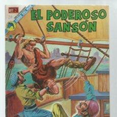 BDs: EL PODEROSO SANSÓN 20, 1973, NOVARO, MUY BUEN ESTADO. COLECCIÓN A.T.. Lote 236864555