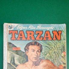 Tebeos: TARZAN (1951, EMSA / SEA / NOVARO) 18 · 1-V-1953 · TARZAN. Lote 236872330