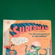 Tebeos: SUPERMAN (1952, ER / NOVARO) 124 · 15-V-1958 · SUPERMÁN. Lote 236874020