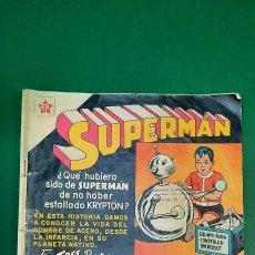 Tebeos: SUPERMAN (1952, ER / NOVARO) 253 · 16-I-1961 · SUPERMÁN. Lote 236874790