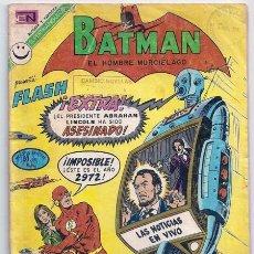 Tebeos: BATMAN, 644 – PRESENTA: FLASH – NOVARO, 08/1972. Lote 236987865