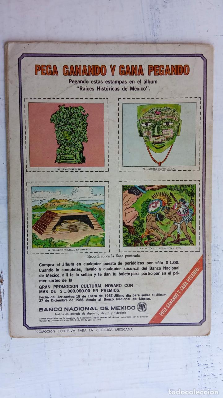 Tebeos: AVENTURA Nº 461 TUROK EL GUERRERO DE PIEDRA - NOVARO - Foto 6 - 237013260