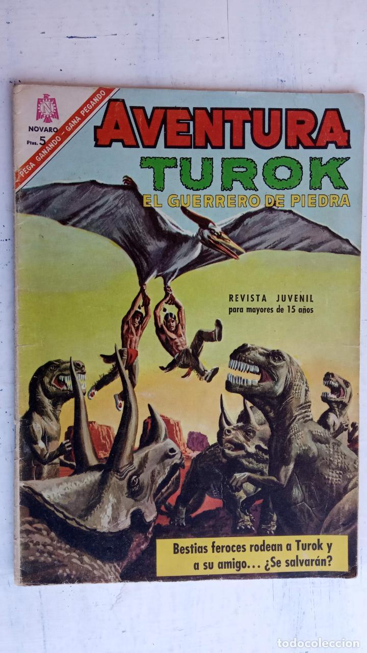 AVENTURA Nº 461 TUROK EL GUERRERO DE PIEDRA - NOVARO (Tebeos y Comics - Novaro - Otros)