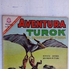 Tebeos: AVENTURA Nº 461 TUROK EL GUERRERO DE PIEDRA - NOVARO. Lote 237013260