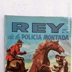 Tebeos: REY DE LA POLICÍA MONTADA Nº 19 - 1969. Lote 237013520