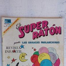 Tebeos: SUPER RATON Nº 203 NOVARO. Lote 237014030