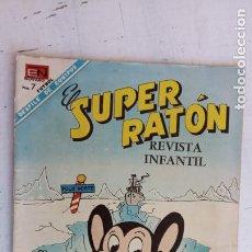 Tebeos: SUPER RATON Nº 192 NOVARO. Lote 237014870