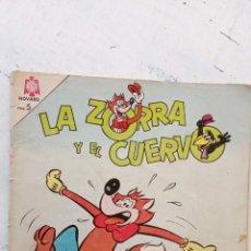 Tebeos: LA ZORRA Y EL CUERVO Nº 167 NOVARO. Lote 237017460