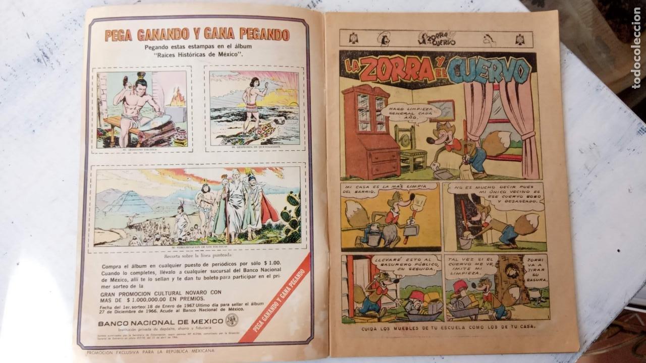 Tebeos: LA ZORRA Y EL CUERVO Nº 189 NOVARO - Foto 2 - 237017870