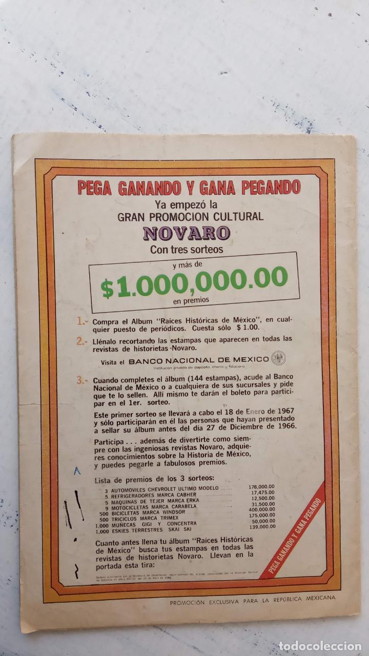 Tebeos: LA ZORRA Y EL CUERVO Nº 189 NOVARO - Foto 7 - 237017870