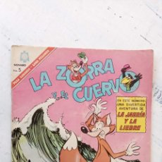 Tebeos: LA ZORRA Y EL CUERVO Nº 189 NOVARO. Lote 237017870