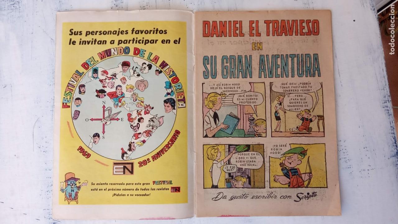 Tebeos: DANIEL EL TRAVIESO Nº 56 NOVARO - Foto 2 - 237018025