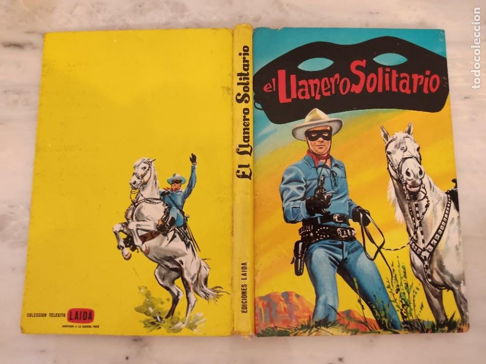 EL LLANERO SOLITARIO -EDICIONES LAIDA , FHER, 1965 - 11 HISTORIAS (Tebeos y Comics - Novaro - El Llanero Solitario)