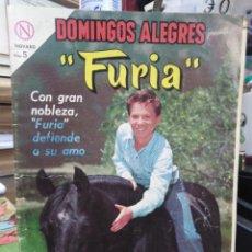 Tebeos: DOMINGOS ALEGRES PRESENTA:FURIA-EDITA NOVARO-N°519-AÑO 1964. Lote 237650790