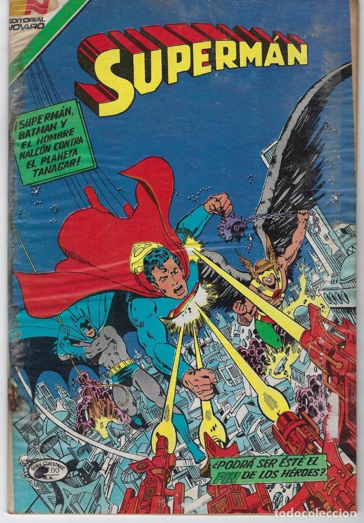 SUPERMAN - SERIE AVESTRUZ: AÑO XI - Nº 3 - 134 - 11 DE NOVIEMBRE DE 1983 *** EDITORIAL NOVARO *** (Tebeos y Comics - Novaro - Superman)