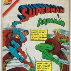 Tebeos: SUPERMAN Y AQUAMÁN - SERIE AVESTRUZ: AÑO VIII - Nº 3-126 - JULIO 20 DE 1983 *** EDITORIAL NOVARO ***. Lote 238767085