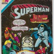 Tebeos: SUPERMAN - SERIE AVESTRUZ: AÑO VIII - Nº 3-114 - FEBRERO 4 DE 1983 *** EDITORIAL NOVARO ***. Lote 238767555
