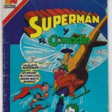 Tebeos: SUPERMAN - SERIE AVESTRUZ: AÑO VIII - Nº 3-112 - ENERO 7 DE 1983 *** EDITORIAL NOVARO ***. Lote 238768035