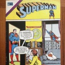 Tebeos: SUPERMAN, Nº 986. NOVARO, 1974. LOS LEUCITOS ASESINOS. Lote 238812445