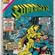 Tebeos: SUPERMAN - SERIE AVESTRUZ: AÑO VIII - Nº 3-107 - OCTUBRE 29 DE 1982 *** EDITORIAL NOVARO ***. Lote 239360880