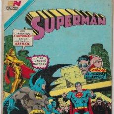Tebeos: SUPERMAN - SERIE AVESTRUZ: AÑO VIII - Nº 3-106 - OCTUBRE 15 DE 1982 *** EDITORIAL NOVARO ***. Lote 239361170