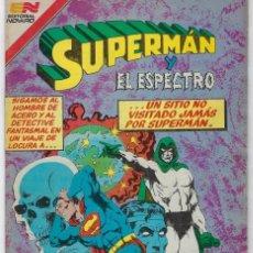 Tebeos: SUPERMAN Y EL ESPECTRO - SERIE AVESTRUZ: AÑO VII - Nº 3-92 - ABRIL 1º DE 1982 **EDITORIAL NOVARO**. Lote 239363125