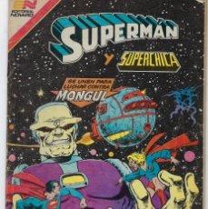 Tebeos: SUPERMAN Y SUPERCHICA - SERIE AVESTRUZ: AÑO VII - Nº 3-91 - MARZO 17 DE 1982 **EDITORIAL NOVARO**. Lote 239363345