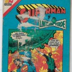 Tebeos: SUPERMAN Y LINTERNA VERDE - SERIE AVESTRUZ: AÑO VII - Nº 3-87 - ENERO 22 DE 1982 *EDITORIAL NOVARO*. Lote 239364225