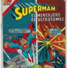 Tebeos: SUPERMAN Y EL MENSAJERO- SERIE AVESTRUZ: AÑO VII - Nº 3-86 - ENERO 12 DE 1982 *EDITORIAL NOVARO*. Lote 239364545