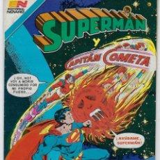 Tebeos: SUPERMAN Y CAPITÁN COMETA - SERIE AVESTRUZ: AÑO VII - Nº 3-83 - NOV. 27 DE 1981 *EDITORIAL NOVARO*. Lote 239364930