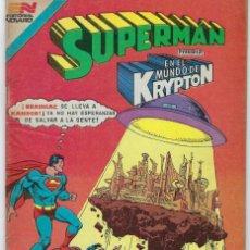 Tebeos: SUPERMAN MUNDO DE KRYPTON - SERIE AVESTRUZ: AÑO VII - Nº 3-77 - AGO. 5 DE 1981 *EDITORIAL NOVARO*. Lote 239366160