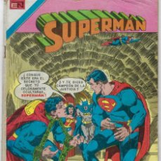 Tebeos: SUPERMAN - SERIE AVESTRUZ: AÑO VI - Nº 3-64 - AGOSTO 7 DE 1980 *EDITORIAL NOVARO*. Lote 239367645