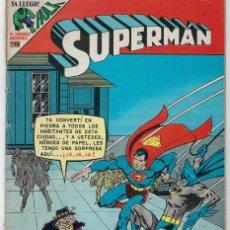 Tebeos: SUPERMAN Y BATMAN - SERIE AVESTRUZ: AÑO VI - Nº 3-61 - MAYO 15 DE 1980 *EDITORIAL NOVARO*. Lote 239368840