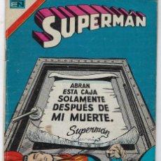 Tebeos: SUPERMAN - SERIE AVESTRUZ: AÑO V - Nº 3-55 - DICIEMBRE 1º DE 1979 *EDITORIAL NOVARO*. Lote 239369460