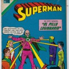 Tebeos: SUPERMAN: LEGION DE SUPER HEROES - SERIE AVESTRUZ: AÑO IV - Nº 3-41 - NOVIEMBRE 4 DE 1978 * NOVARO*. Lote 239370310