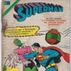 Tebeos: SUPERMAN: LEX LUTHOR - SERIE AVESTRUZ: AÑO II - Nº 3-22 - ABRIL 16 DE 1977 ** EDITORIAL NOVARO **. Lote 239372445
