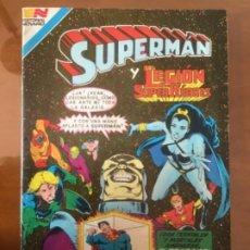 Tebeos: SUPERMAN., Nº 3 - 114. NOVARO - SERIE AVESTRUZ. 1983.. Lote 239404955