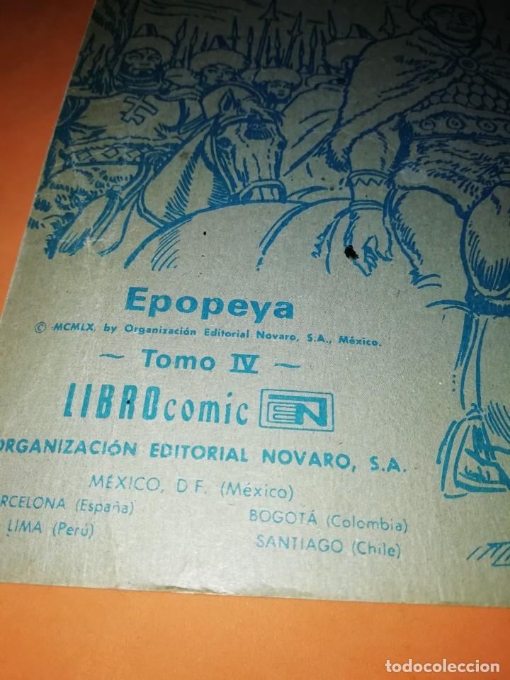 Tebeos: GENGIS KHAN. SEÑOR DE ASIA. COLECCION EPOPEYA. LIBRO COMIC. EDITORIAL NOVARO 1960 - Foto 7 - 239466410