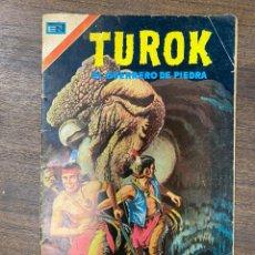 Livros de Banda Desenhada: TUROK. EL GUERRERO DE PIEDRA. AÑO V. Nº 61. MARZO, 1974. EDITORIAL NOVARO. Lote 239554150