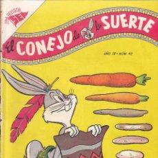 Tebeos: COMIC COLECCION EL CONEJO DE LA SUERTE Nº 42 EDITORIAL NOVARO PROCEDE DE ENCUADERNACION. Lote 239636715