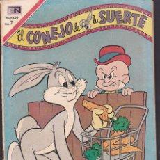 Tebeos: COMIC COLECCION EL CONEJO DE LA SUERTE Nº 333 EDITORIAL NOVARO. Lote 239640245