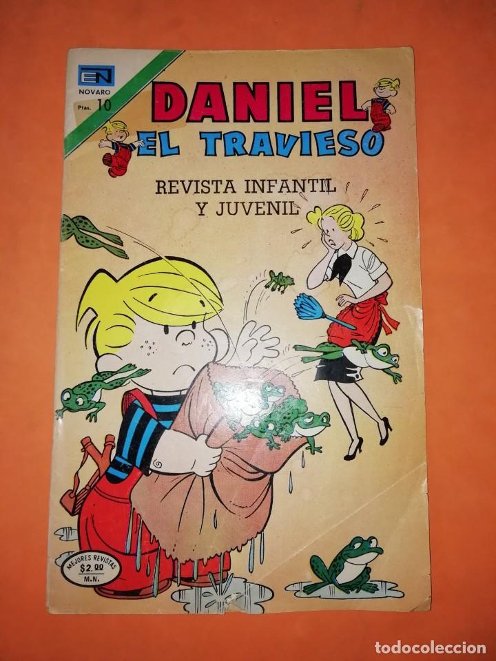 DANIEL EL TRAVIESO. Nº 155 . EDICIONES NOVARO. 1974 (Tebeos y Comics - Novaro - Otros)
