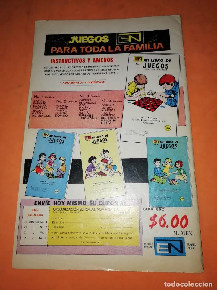 Tebeos: DANIEL EL TRAVIESO. Nº 155 . EDICIONES NOVARO. 1974 - Foto 2 - 239791675