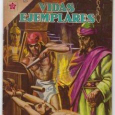 BDs: VIDAS EJEMPLARES: SANTIAGO APOSTOL - AÑO IX - Nº 147 - ABRIL 15 DE 1963 **NOVARO**. Lote 240187120